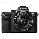 Sony Alpha 7II Mirrorless Camera w/ 28-70mm F3.5-5.6 OSS Lens + Vanguard Tripod + 64GB Memory Card $998