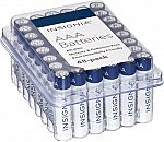 48-Pack Insignia Alkaline Batteries (AA or AAA) $6.30 (Org $16.49) + Free Shipping