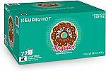 72-Count The Original Donut Shop Keurig Single-Serve K-Cup Pods, Medium Roast Coffee $21.63