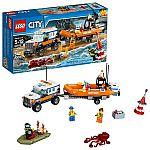 LEGO City Coast Guard 4 x 4 Response Unit 60165 Building Kit (347 Piece) $25 (orig. $40)