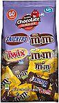 60-piece MARS Chocolate Favorites Fun Size Halloween Candy Bars Variety Mix $5.79
