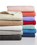 Martha Stewart Reversible Towel Collection Quick Dry Wash Towel $1.79, Hand Towel $2.79,  Bath Towel $4.79