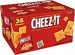 36-Pack 1.5oz Cheez-It Baked Snack Crackers $6.52