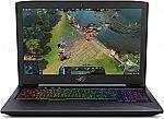 """(Price drop) ASUS ROG Strix 15.6"""" Gaming Laptop (i5-8300H 8GB 128GB SSD+1TB GTX 1050Ti) $769"""