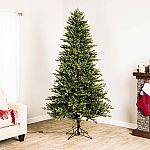 GE 7-ft Christmas Tree with 500 Color Changing LED Lights $98 (50% off)