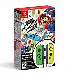 Super Mario Party + Neon Green/ Neon Yellow Joy-Con Set $100 (Pre-order)