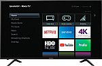 "65"" Sharp LC-65Q7370U 4K UHD HDR Roku Smart LED HDTV $450, 75"" Hisense 75EU8070 4K UHD HDR Smart LED HDTV $900 (Org $1500)"