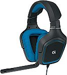 Logitech G430 Over-the-Ear Gaming Headset $30