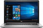 """Dell Inspiron 17.3"""" Laptop (Core i7-8550U, Radeon 530, 16GB, 256GB SSD + 2TB) $899 (Extra $100 drop)"""