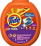 81ct Tide PODS 3 in 1 HE Turbo Laundry Detergent Pacs $13