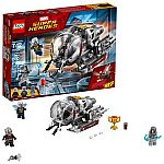 LEGO Marvel Super Heroes Ant-Man and The Wasp Quantum Realm Explorers $13
