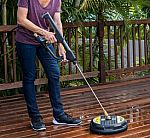 Karcher 15-Inch Pressure Washer Surface Cleaner Attachment, 3200 PSI Rating $40