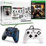 Choice of Xbox One S 1TB Console + Bonus Game + 2 BONUS Controllers from $299, XBox One X Bundle from $499