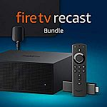 Amazon Fire TV Recast (DVR) bundle with Fire TV Stick 4K and an HD antenna $250
