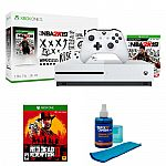 Microsoft Xbox One S 1TB Console NBA 2K19 & Red Dead Redemption 2 Bundle $280