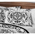 Bed and Bath Last Chance Clearance: Mainstays Classic Leaf Damask Patterned Quilt, King Sham $3.71 and more
