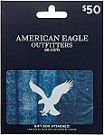 $50 American Eagle Outfitters Gift Card $40 and more