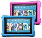 2-Pack Fire 7 Kids Edition Tablet $120, 2-pk Fire HD 8 Kids Edition $150, 2-pk Fire HD 10 Kids Edition $250,