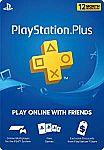 PlayStation Plus: 12 Month Membership [Digital Code] $39.99