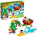 LEGO DUPLO Town Santa's Winter Holiday (10837) $19 (orig. $30)