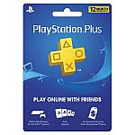 Sony PlayStation Plus 12 Month Subscription [Digital Download] $30 (New Customers)