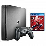 Sony PS4 1TB + Controller + Spider-Man Game $199.99