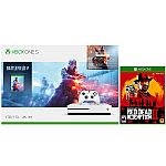 eBay Gaming Console Sale: Xbox One S 1TB Battlefield V Console + Red Dead Redemption 2 Bundle $229 and more