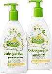 Up to 40% Off Natural Babycare (Honest Co, Babyganics, Seventh Gen. & More)