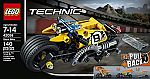 LEGO Technic Power Functions Motor Set 8293 $16.99, LEGO Technic Stunt Bike 42058 Advanced Vehicle Set $11.99 and more
