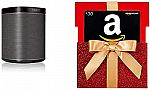 Sonos Play:1 Two Room Set + $30 Amazon Gift card $298