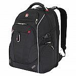 """SwissGear 18"""" Scan Smart TSA Laptop Backpack $35"""