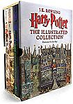 Print Books: $5 off $20+ Harry Potter: The Illustrated Collection (Books 1-3 Boxed Set) $51 & more