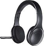Logitech H800 Bluetooth Wireless Headset with Mic for PC, Tablets and Smartphones $49.99