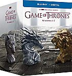 Game of Thrones: The Complete Seasons 1-7 (BD + Digital) $74 and more