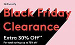 (Online Only) Nordstrom Rack Black Friday: + Extra 30% Off Clearance + Free Shipping any Orders