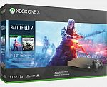Xbox One X 1TB – Gold Rush Battlefield V Bundle + 2 Bonus Games $429