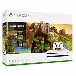 Xbox One S 1TB Minecraft Creators Bundle $199.99