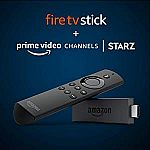 Fire TV Stick (1st Gen) + 2 months of STARZ $24.99