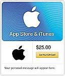 $100 App Store & iTunes Gift Cards - Email Delivery $80