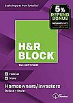 H&R Block 2018 Tax Software: Deluxe + State  $18 (Amazon Deal of the Day)