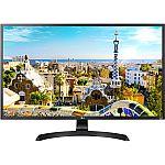 "LG 32"" 4K UHD LED Monitor 3840 x 2160 16:9 32UD59B $329 and more"