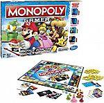 Hasbro Monopoly Gamer (Super Mario Board Game) $10 (orig. $25) + Free Shipping