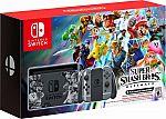 Nintendo Switch Super Smash Bros Ultimate Console Bundle $399.99