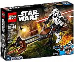 LEGO Star Wars Scout Trooper & Speeder Bike 75532 $30.99 and more LEGO Star War Sale