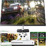 "Xbox One S 1TB Minecraft Bundle + HP 27"" Edge to Edge Full Gaming Monitor Bundle $310"