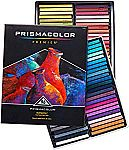 Save up to 40% or more on Prismacolor, Paper Mate, Sharpie Supplies 96-Ct Prismacolor Premier NuPastel Firm Pastel Sticks $48 & More