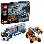 LEGO Technic Container Yard 42062 Building Kit (631 Piece) $36 (40% off)