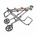 Universal Mobile Miter Saw Stand with Mounting Braces $99 (org $230)