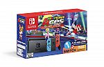 Nintendo Switch System, Neon Blue & Neon Red with Mario Tennis Aces & 1-2-Switch, HACSKABW1 $359