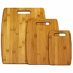 Oceanstar 3-Piece Bamboo Cutting Board Set $12.88 and more